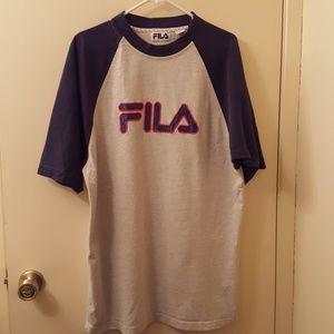 FILA mens active wear top.